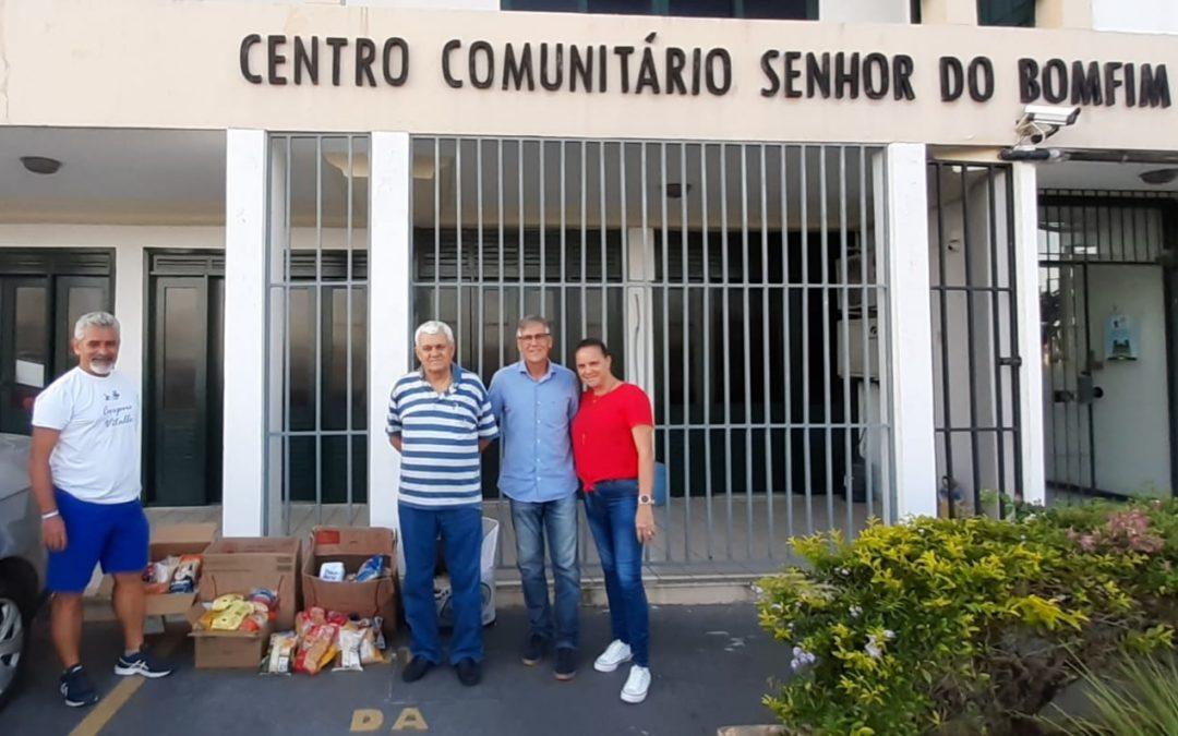 Doações da 26ª Caminhada Clube Espanhol – Igreja do Bomfim