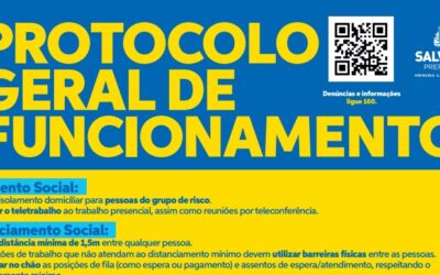 Protocolo Geral de Funcionamento – Prefeitura de Salvador