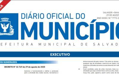Decreto Municipal Nº 32.769/2020